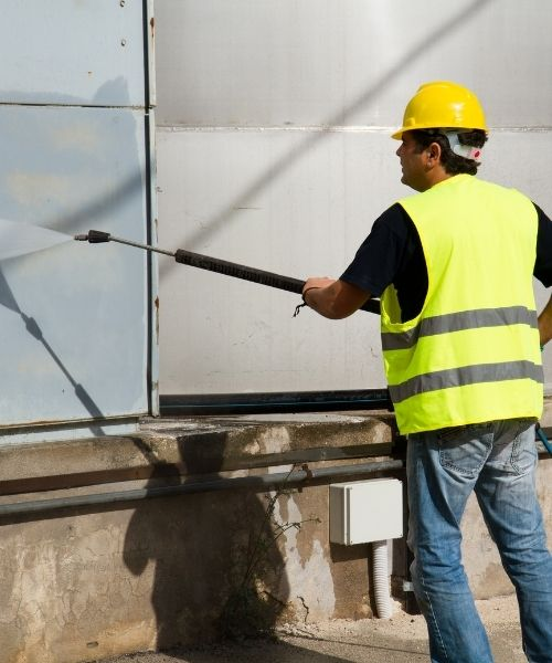 Commercial Pressure Washing 01